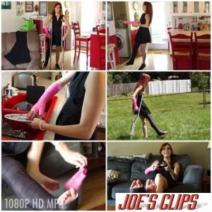 Hot girl slc crutching - 1 part 9